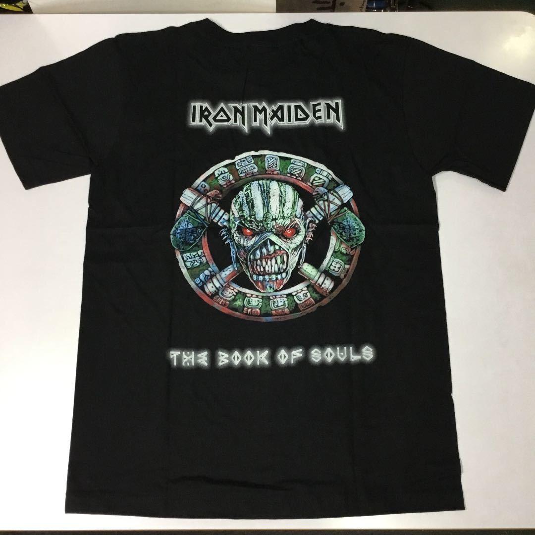 バンドデザインTシャツ Mサイズ アイアンメイデン IRON MAIDEN ② SR6A2