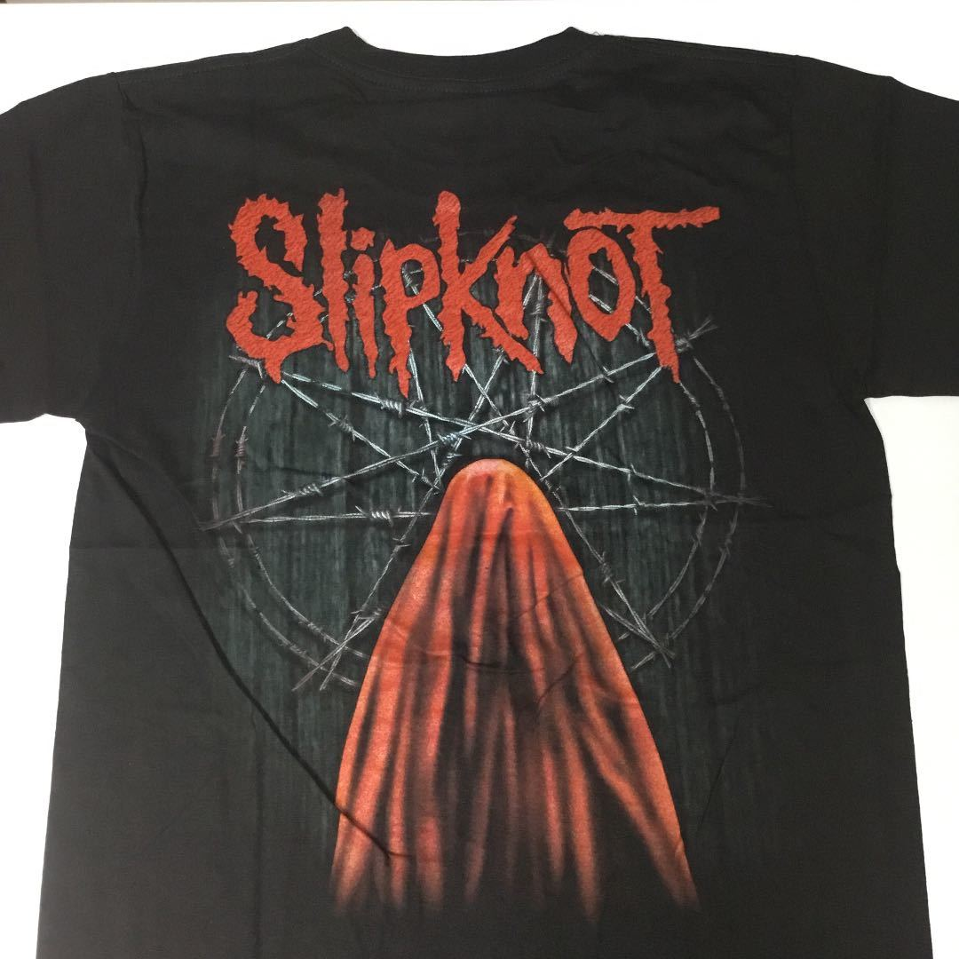 バンドデザインTシャツ Mサイズ スリップノット SlipknoT ③ SR6A2