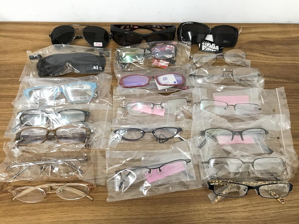 ⑤【新品★高品質メガネ・サングラス20本まとめ】大特価 安い お買い得 チタン メガネフレーム 眼鏡 セット売り 大量_画像1