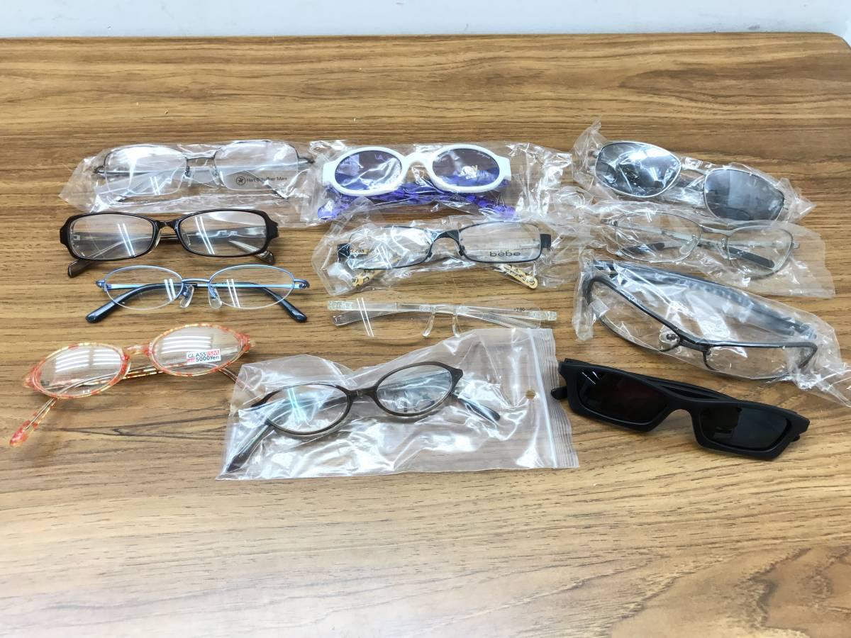 ④【新品★高品質メガネ・サングラス100本まとめ】大特価 安い お買い得 チタン メガネフレーム 眼鏡 セット売り 大量 破格_画像2
