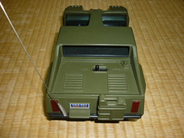 ■希少 美品 1980年購入 共箱付 日本製!シンセイ(SHINSEI)バトルレンジャー スペシャル スーパーオフロードカー ラジオ エレコン