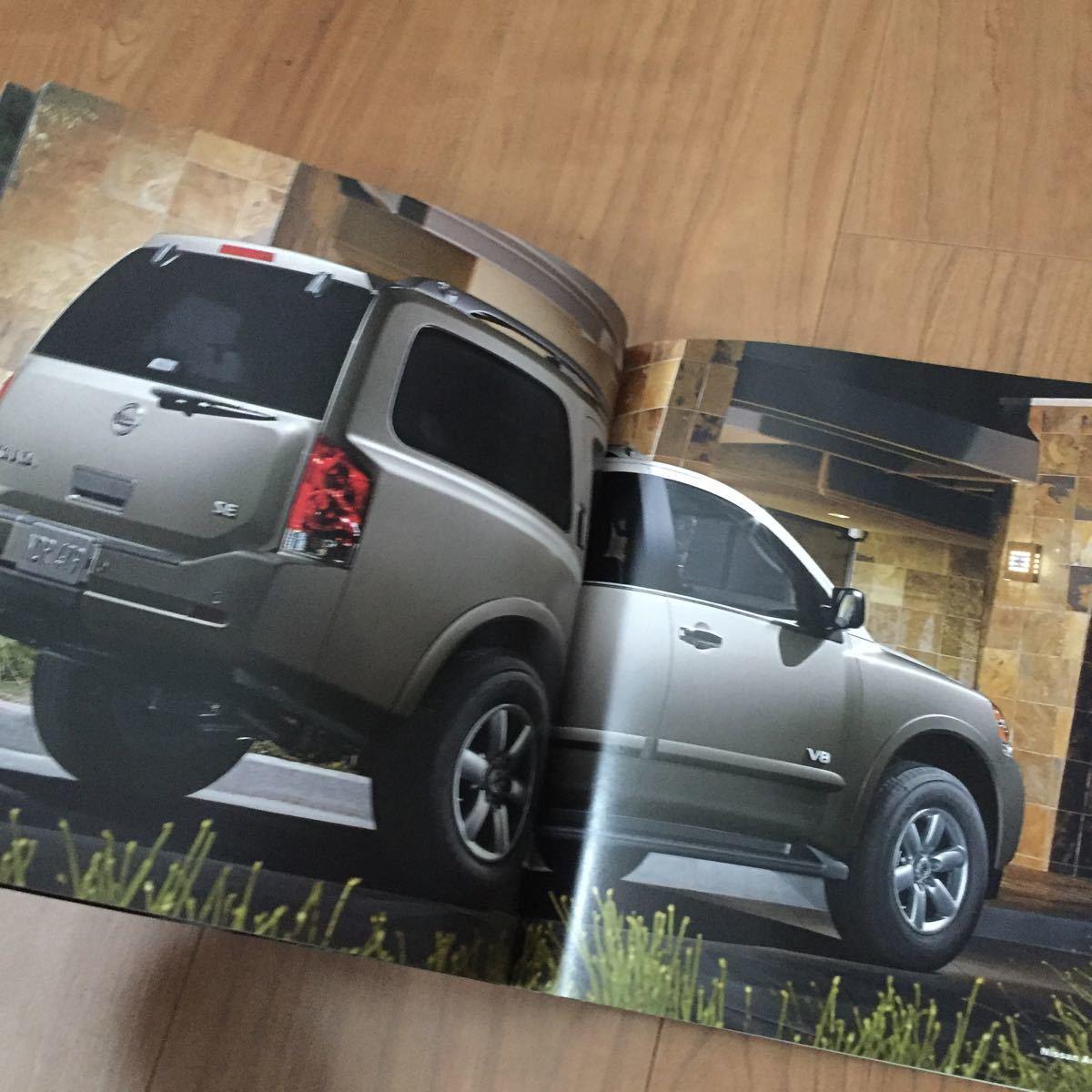 2008 日産 ニッサン アルマーダ Armada アルマダ カタログ USA アメリカ 雑貨 SUV 逆輸入 インフィニティ 広告_画像7