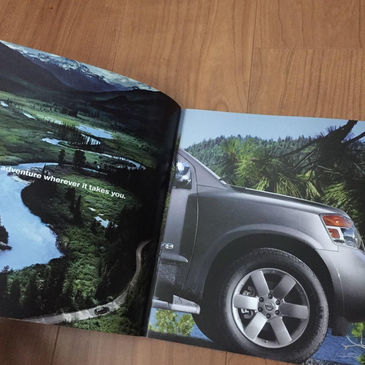 2008 日産 ニッサン アルマーダ Armada アルマダ カタログ USA アメリカ 雑貨 SUV 逆輸入 インフィニティ 広告_画像3