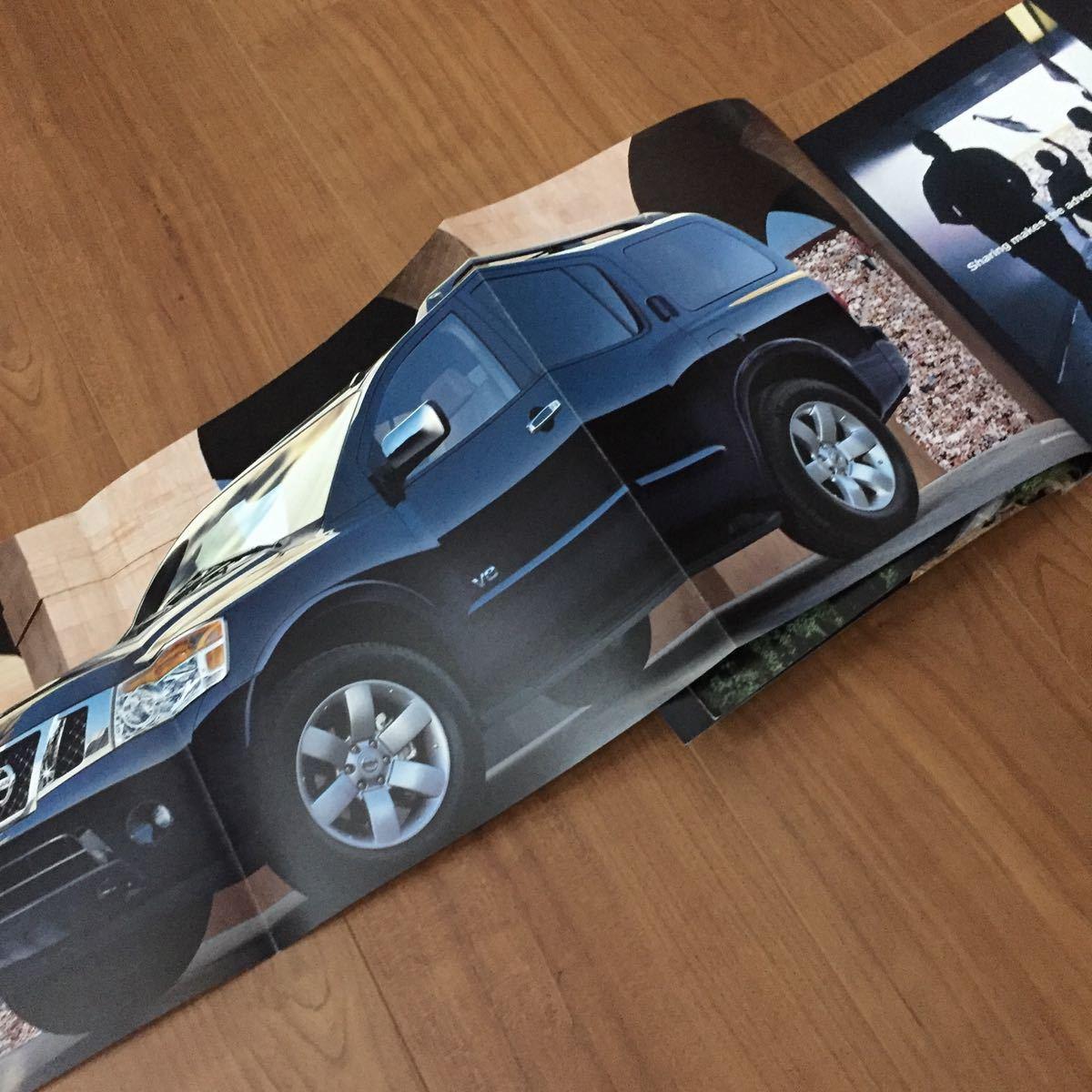 2008 日産 ニッサン アルマーダ Armada アルマダ カタログ USA アメリカ 雑貨 SUV 逆輸入 インフィニティ 広告_画像4