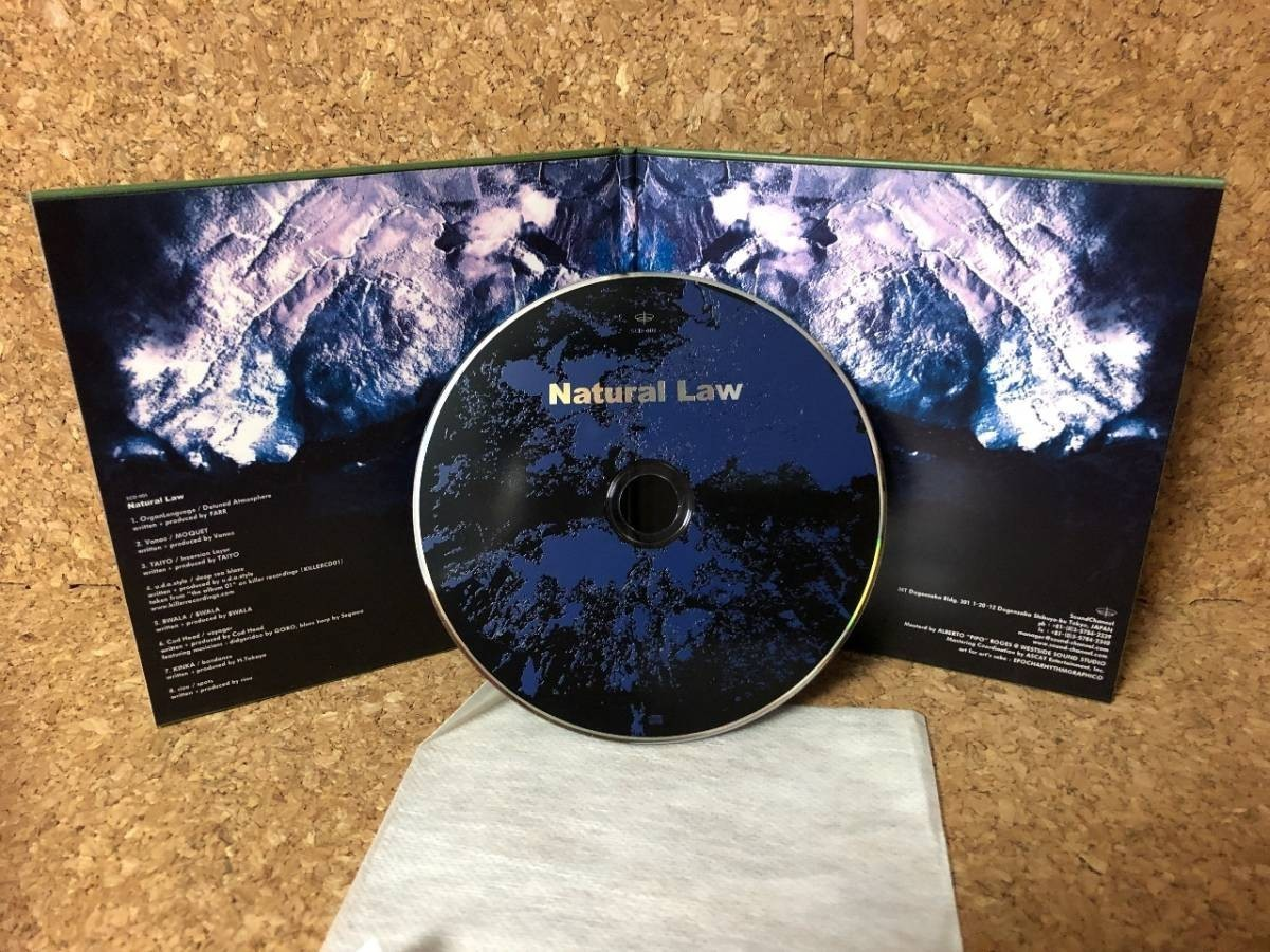2121 A2681 オムニバス Comilation CD「Natural Law ナチュラル・ロー」ほぼ新品 輸入盤 美盤 Bwala Riou Taiyo U.D.A. Style_画像5