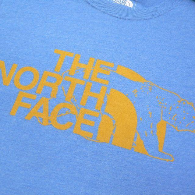 US Sサイズ★THE NORTH FACE SLIM FIT LOGO BEAR ザ・ノースフェイス ベアー ロゴプリント 半袖Tシャツ アメリカ正規店モデル(9518)_画像5