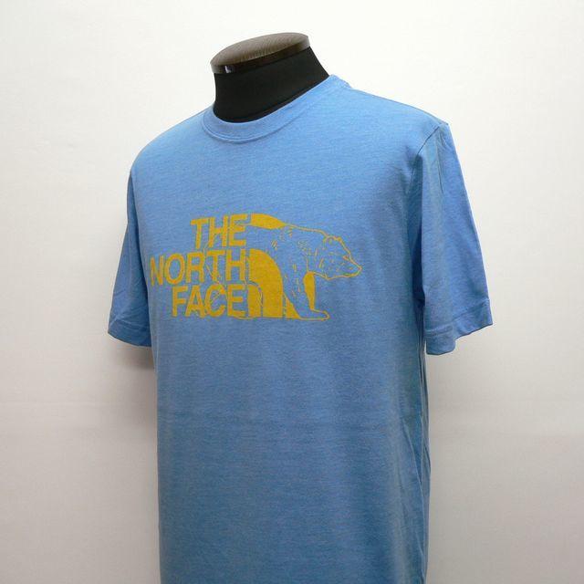 US Sサイズ★THE NORTH FACE SLIM FIT LOGO BEAR ザ・ノースフェイス ベアー ロゴプリント 半袖Tシャツ アメリカ正規店モデル(9518)_画像3