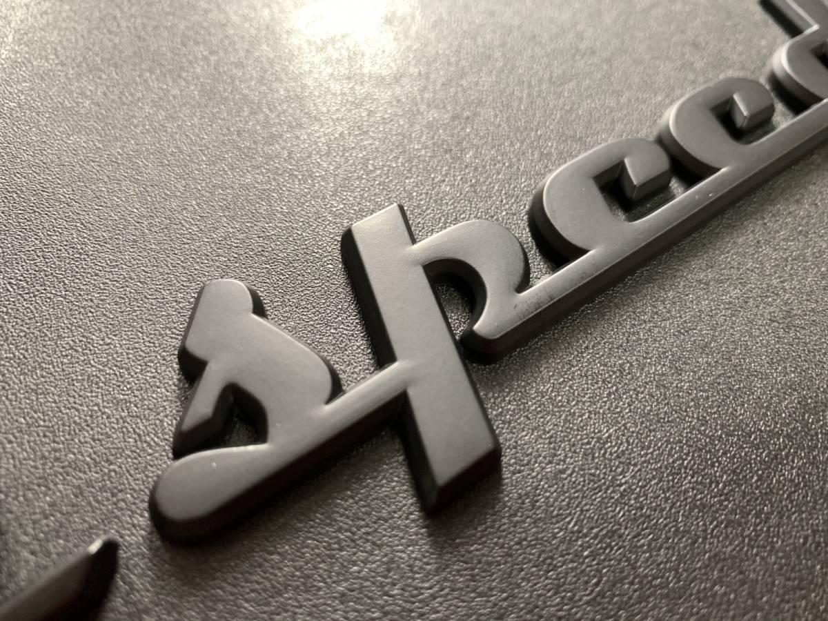 【渋黒】マツダスピード エンブレム☆マセラティタイプ アクセラ アテンザ デミオファミリア ロードスター CX-3CX-5CX-7CX-8RX-7RX-8MPV _画像4