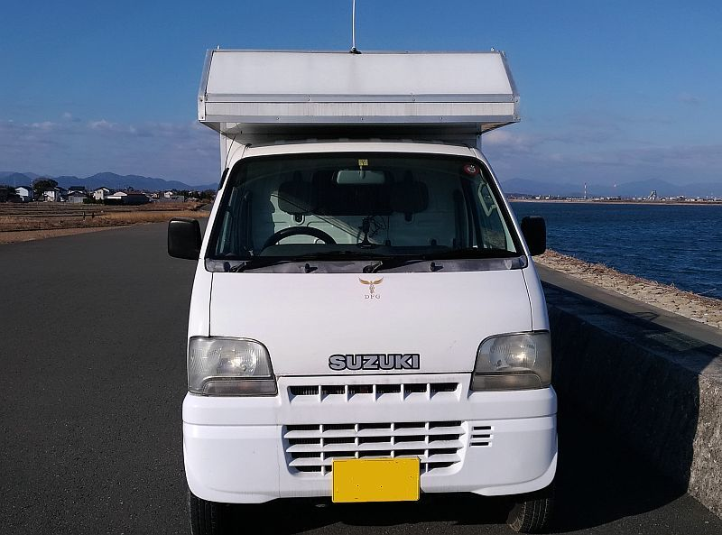 「軽キャンピング スズキキャリー 充実装備 二人旅」の画像3