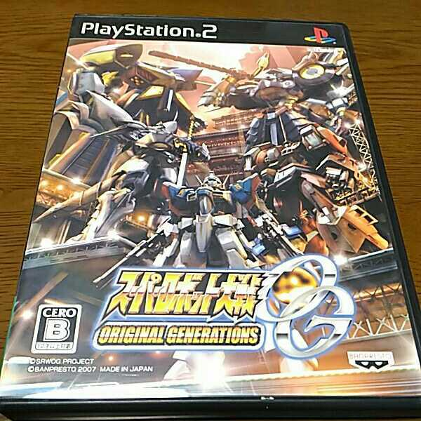 PS2 ヒーロー 4本セット スーパーロボット大戦 impact SDガンダム ジージェネレーション スピリッツ ネオ スーパーロボット大戦OG