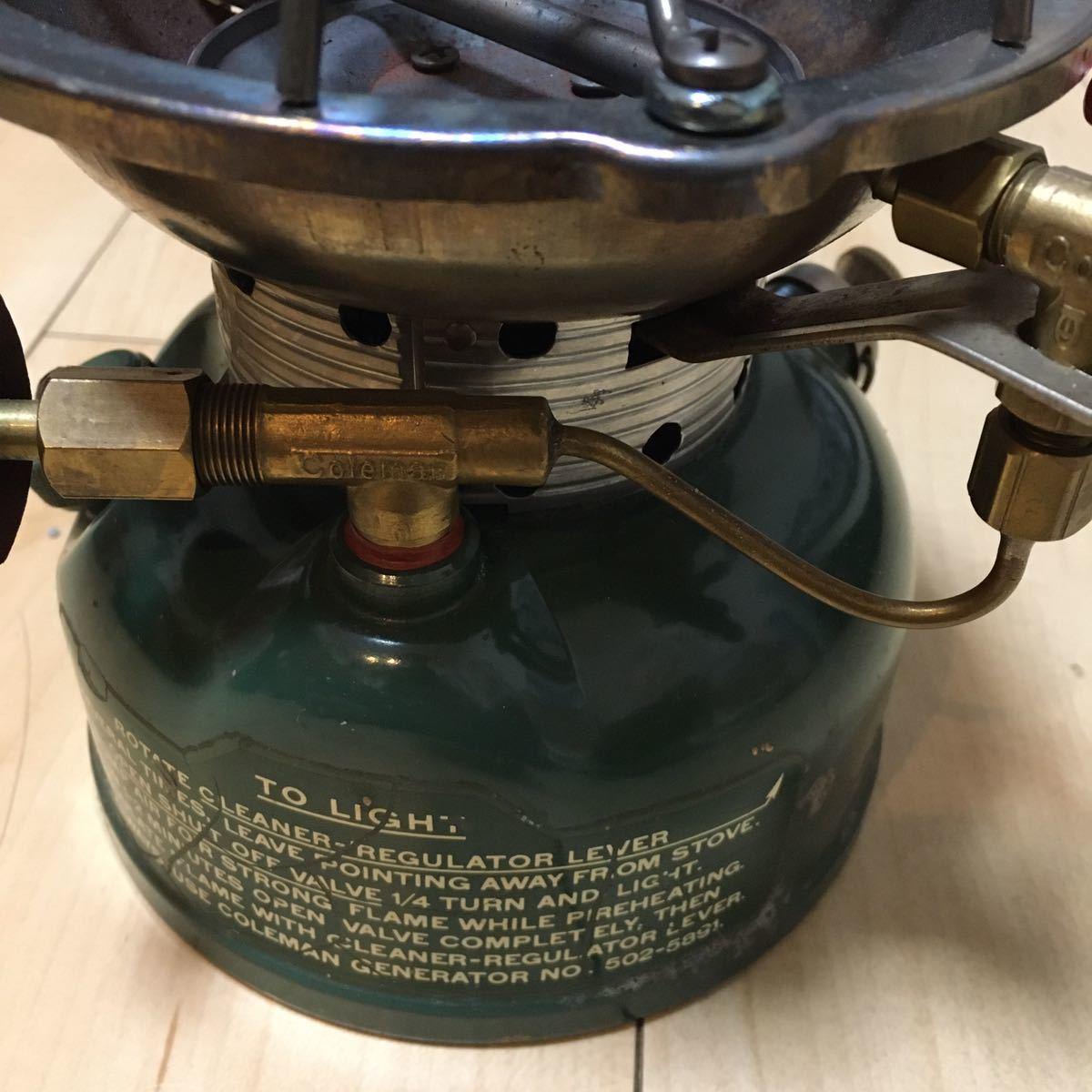 コールマン Coleman シングルバーナー STOVE MODEL 502 ガソリン