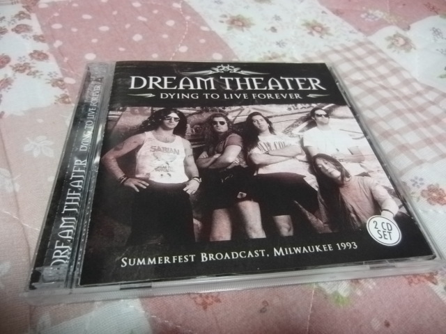 DREAM THEATER/DYING TO LIVE FOREVER (輸入盤2枚組)
