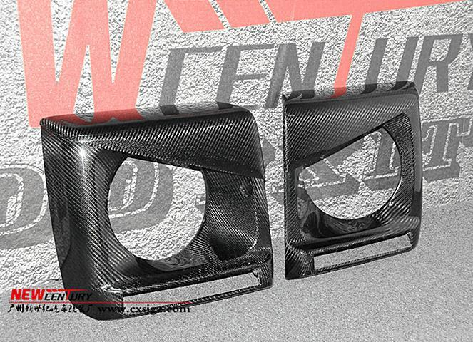 メルセデス ベンツ W463 GクラスG350d/G320/G500/G550/AMG G55/AMG G63/AMG G65  カーボン製 ヘッドライトカバー デイライト_画像3