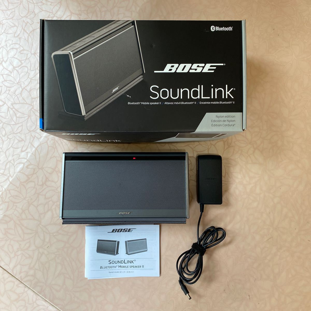 BOSE SoundLink Bluetooth Mobile speaker Ⅱ