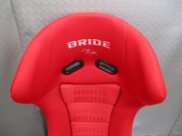 美品 BRIDE ブリッド MAXISⅢ マキシスⅢ MAXIS マキシス FZ770 FRP フルバケットシート フルバケ シート 赤 レッド 即納 競技専用品_画像2