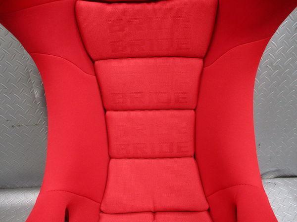 美品 BRIDE ブリッド MAXISⅢ マキシスⅢ MAXIS マキシス FZ770 FRP フルバケットシート フルバケ シート 赤 レッド 即納 競技専用品_画像3
