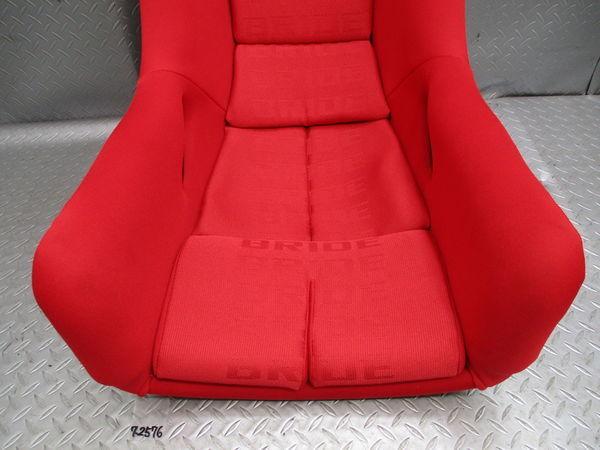美品 BRIDE ブリッド MAXISⅢ マキシスⅢ MAXIS マキシス FZ770 FRP フルバケットシート フルバケ シート 赤 レッド 即納 競技専用品_画像4
