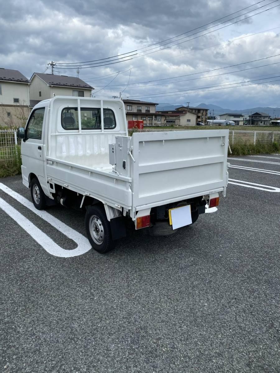 「No.2 ダイハツ ハイゼット トラック 4WD パワーゲート  MT 車検付」の画像2