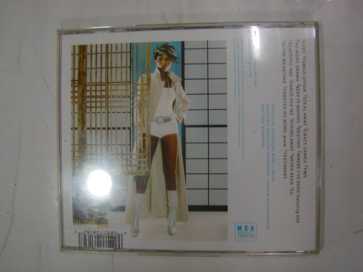 CDアルバム 輸入盤[ Mary J Blige ]NO MORE DRAMA 17曲 送料込_画像2