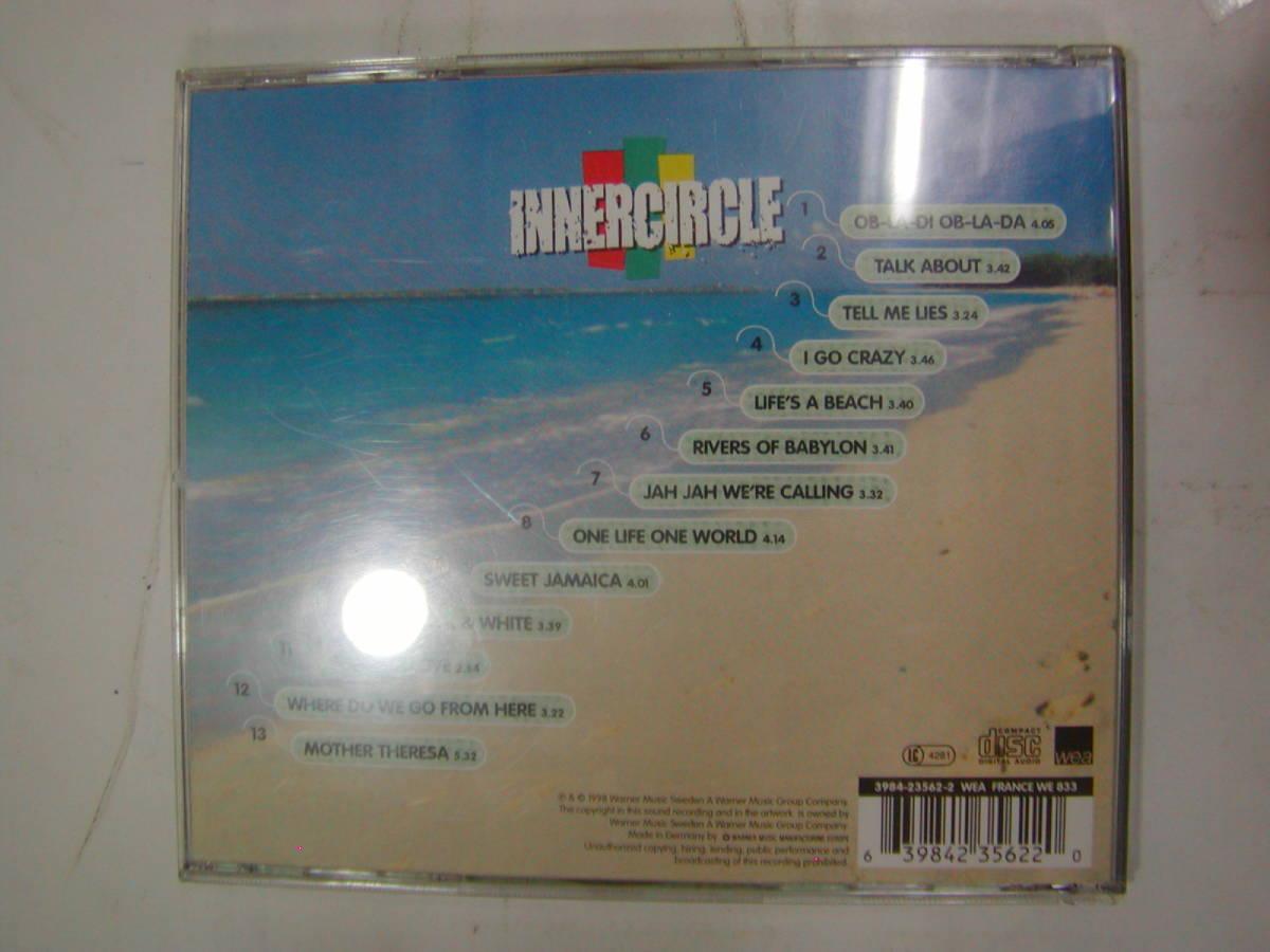 CDアルバム 輸入盤[ INNERCIRCLE インナーサークル ]jamaika me crazy 13曲 送料込_画像2