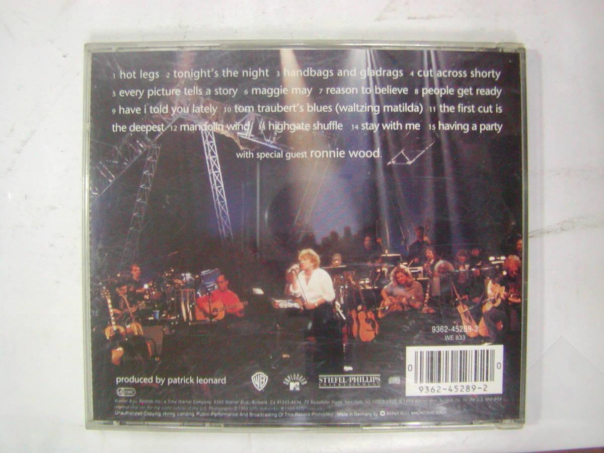 CDアルバム 輸入盤[ ROD STEWART ロッド・スチュワート ]unplugged 15曲 送料込_画像2