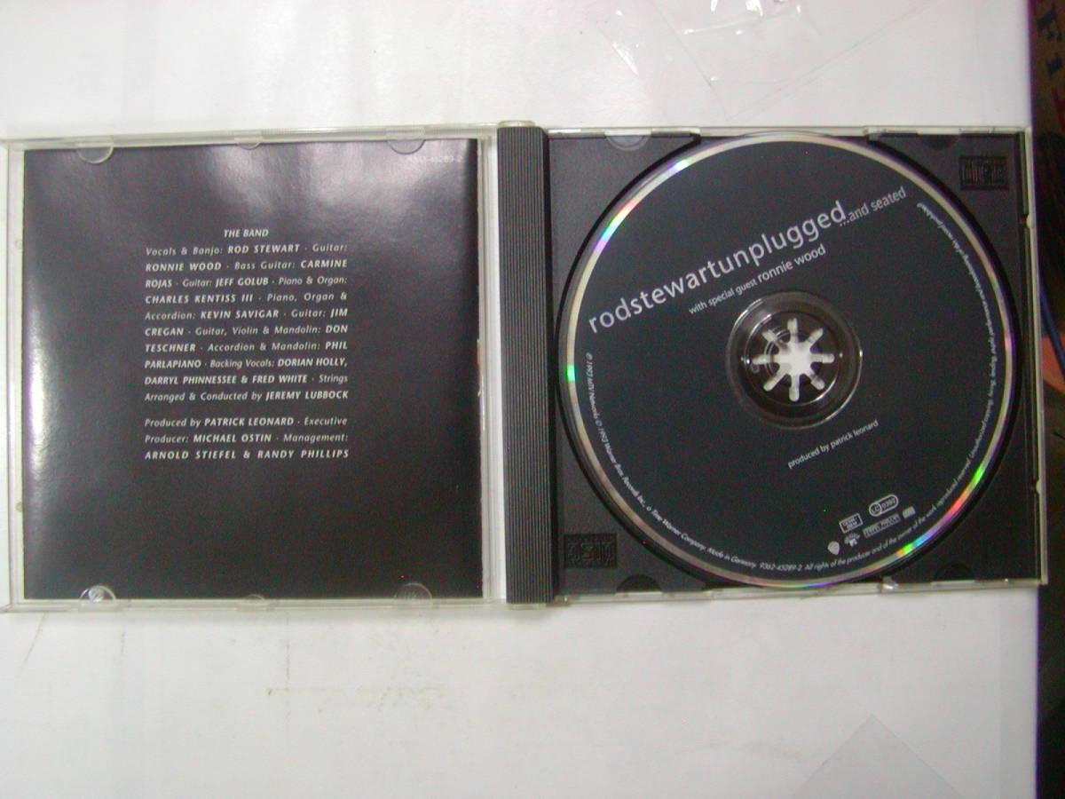 CDアルバム 輸入盤[ ROD STEWART ロッド・スチュワート ]unplugged 15曲 送料込_画像3