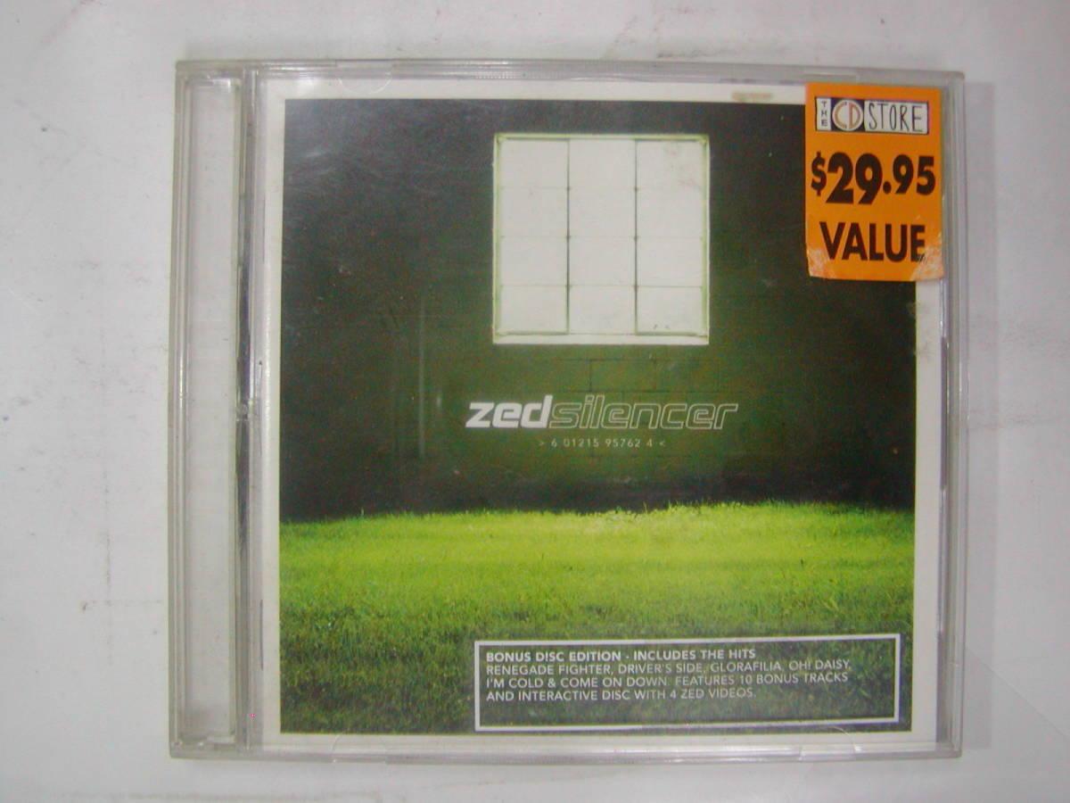 CDアルバム+ボーナストラック 2枚組 輸入盤[ zed silencer ] 10曲 送料込_画像1