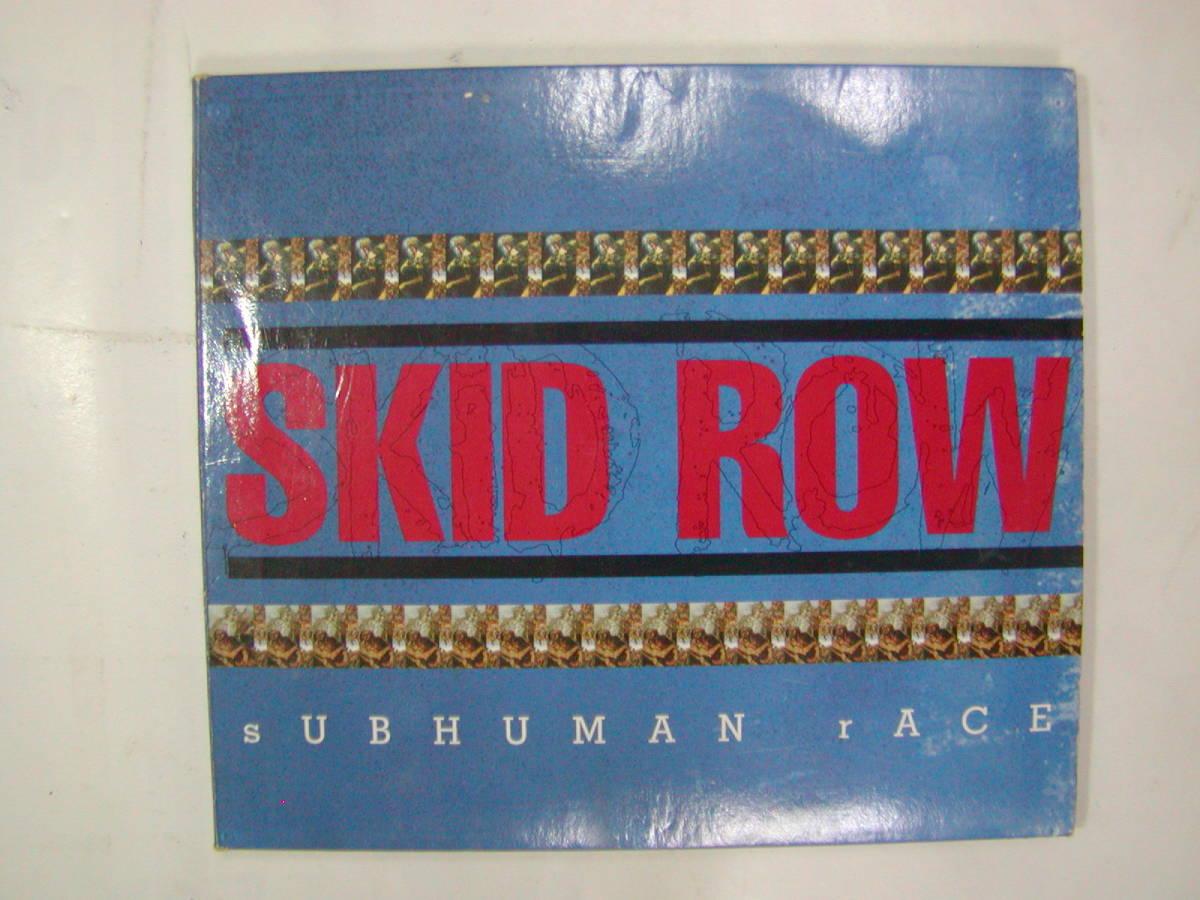 CDアルバム 輸入盤[ SKID ROW スキッド・ロウ ]SUBHUMAN RACE 13曲 送料込_画像1