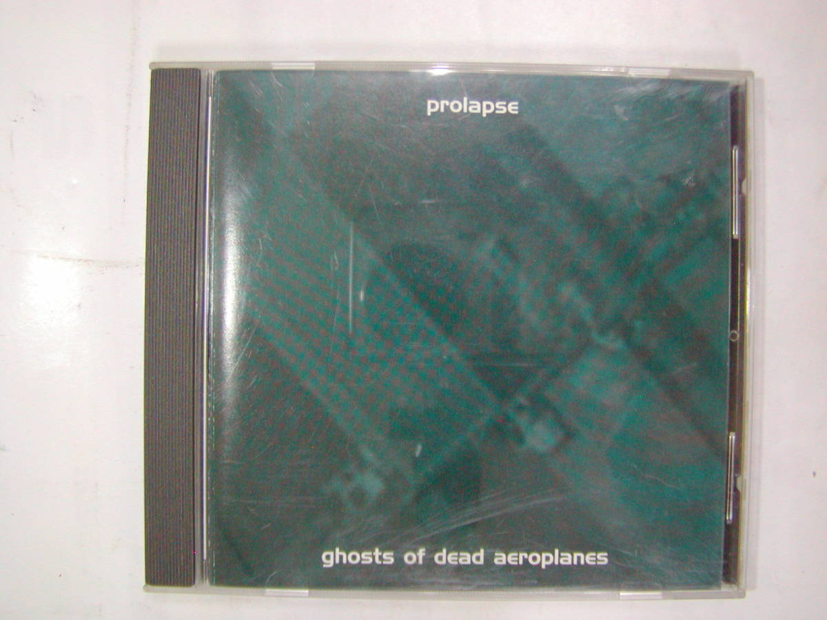 CDアルバム 輸入盤[ prolapse ]ghosts of dead aeroplanes 8曲 送料込_画像1
