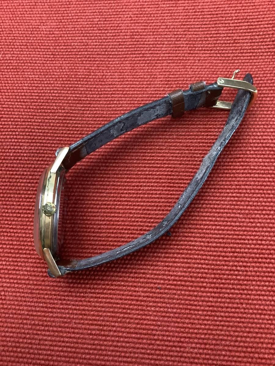 SEIKO セイコー 腕時計 CROWN Special クラウンスペシャル 15021 手巻き 文字盤シルバー メンズ 動作品 中古_画像3