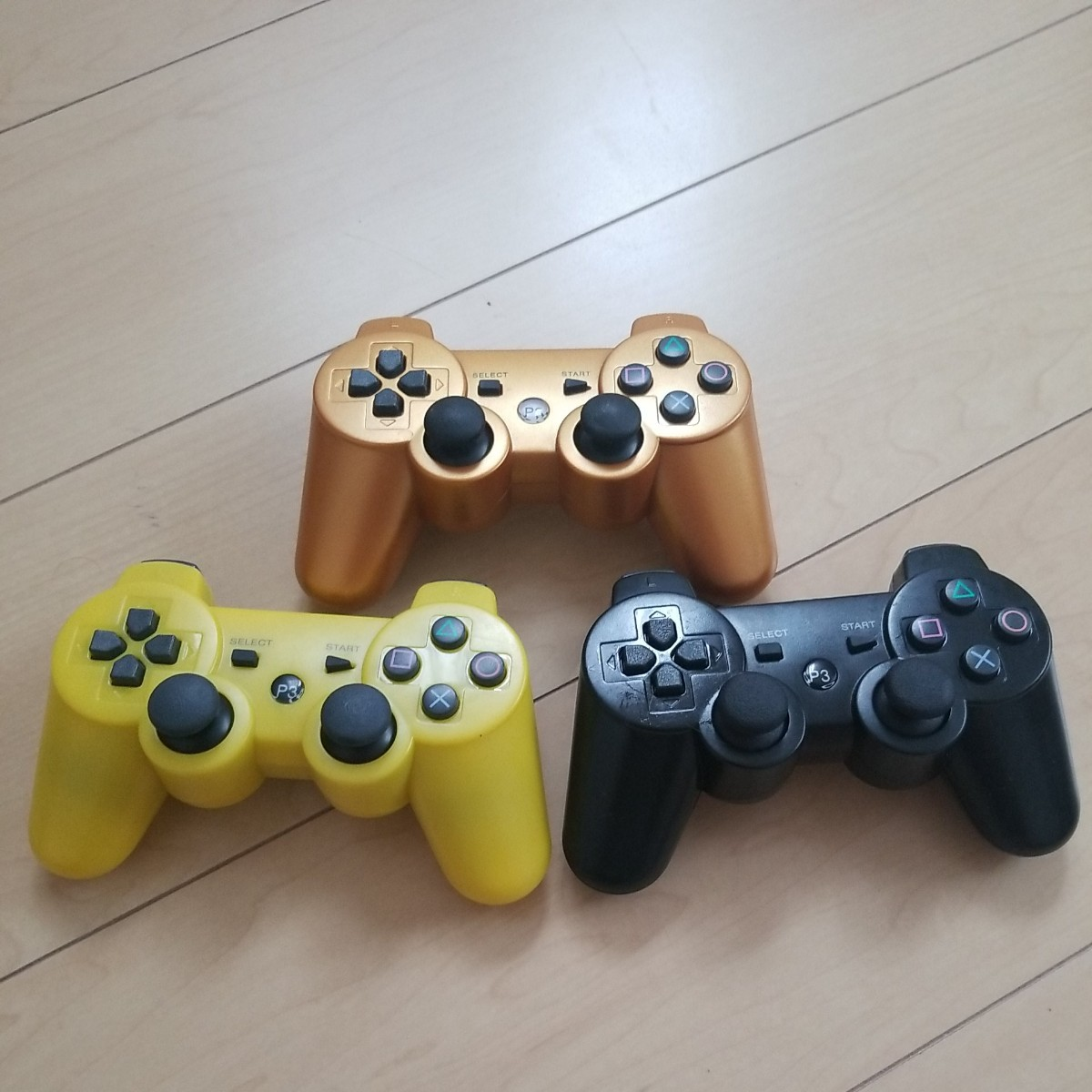 PS3コントローラー  ジャンク プレイステーション3 プレステ3 3個