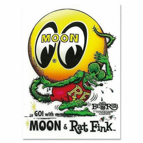 RatFink x MOON Eyeball Sticker 検索用→ムーンアイズ MOONEYES ラット フィンク アイボール_画像3
