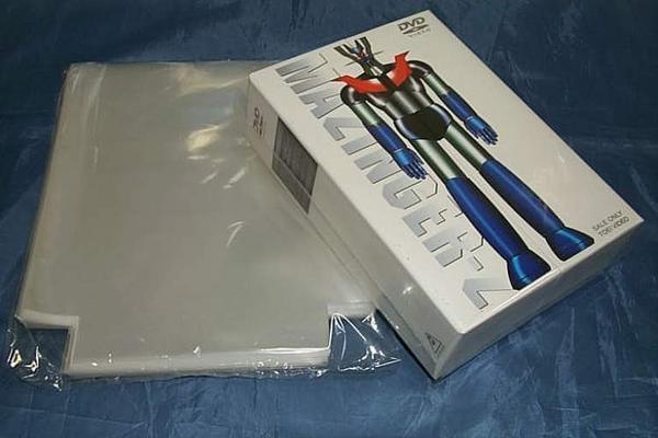 (サプライ) DVDボックス保護用PP袋(透明) 新品200枚(100枚x2パック)セット (S21B3)_画像2