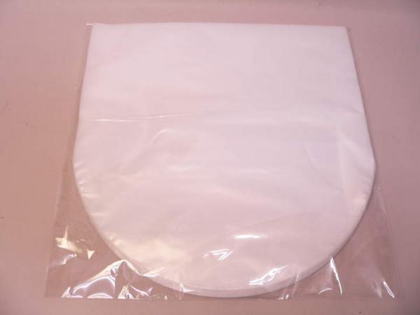 (サプライ) LP用 内袋(白色ビニール)薄手500枚(100枚x5パック)セット (C5S) アナログレコード用_画像1