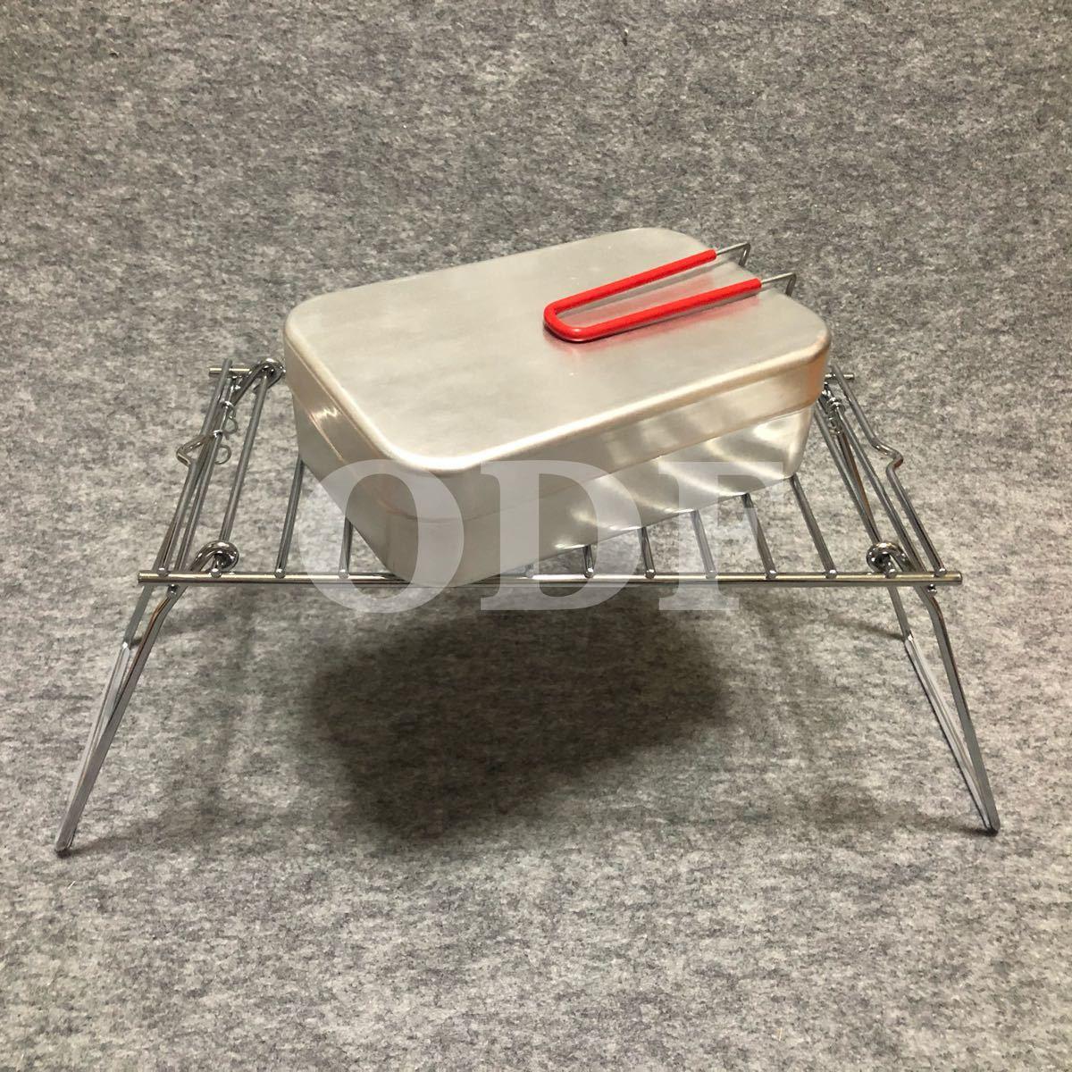コンパクト 折畳み クッカー スタンド ミニテーブル BBQ ツーリング