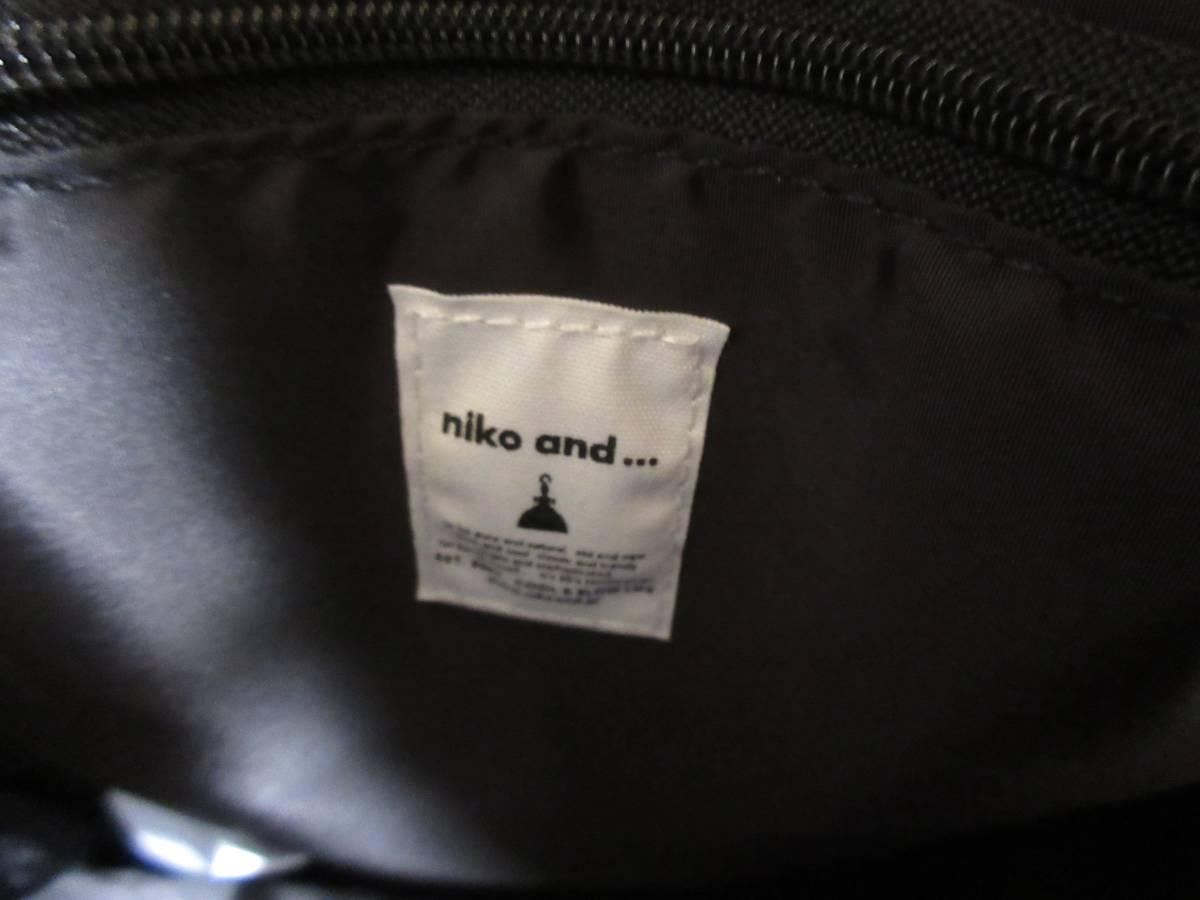 niko and... ニコアンド ショルダーバッグ
