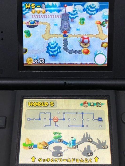 送料無料 ニュースーパーマリオブラザーズ ソフトのみ+ 攻略本 セット DS New SUPER MARIO BROS.