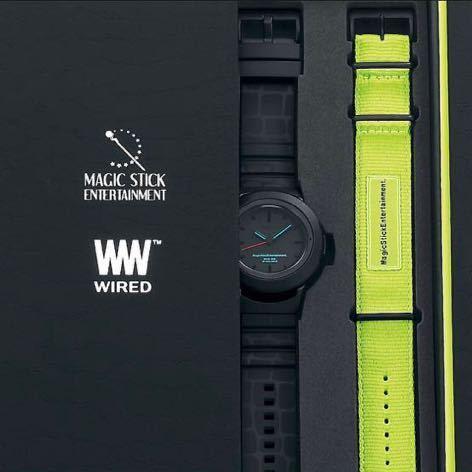 MAGIC STICK x WIRED WW TYPE0 腕時計 マジックスティック ワイアード アナログ SEIKO セイコー 300本限定_画像1