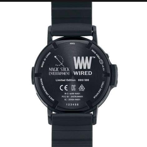 MAGIC STICK x WIRED WW TYPE0 腕時計 マジックスティック ワイアード アナログ SEIKO セイコー 300本限定_画像4