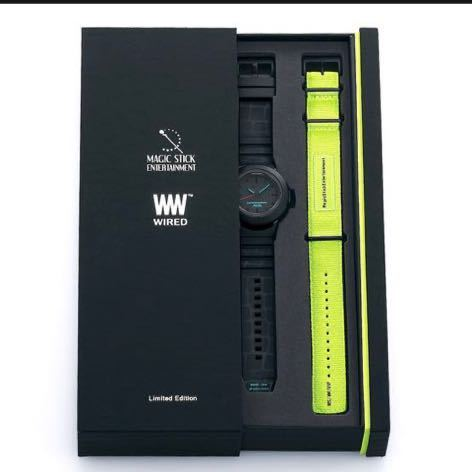 MAGIC STICK x WIRED WW TYPE0 腕時計 マジックスティック ワイアード アナログ SEIKO セイコー 300本限定_画像2