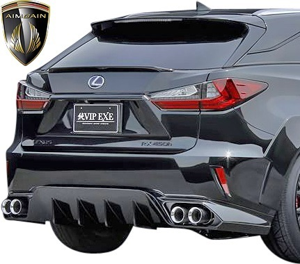 【M's】LEXUS 20系 RX 前期 RX450h RX200t F-SPORT (2015.10-2019.8) AIMGAIN 純VIP EXE リアゲートスポイラー // エイムゲイン エアロ_画像2