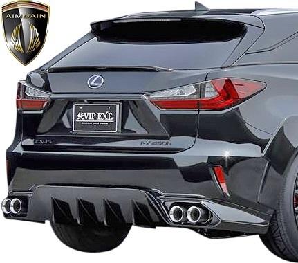 【M's】レクサス 20系 RX 前期 RX450h RX200t F-SPORT (2015.10-2019.8) AIMGAIN 純VIP EXE リア アンダースポイラー // エイムゲイン_画像2