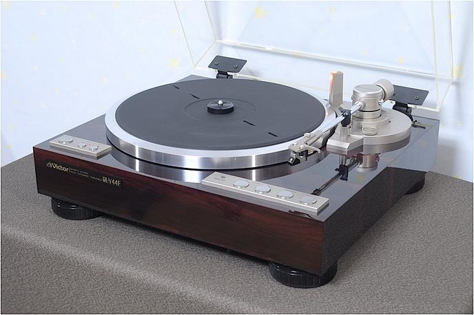 美品 Victor QL-Y44F クォーツロック フルオート レコードプレーヤー 動作良好完動品 1円スタート