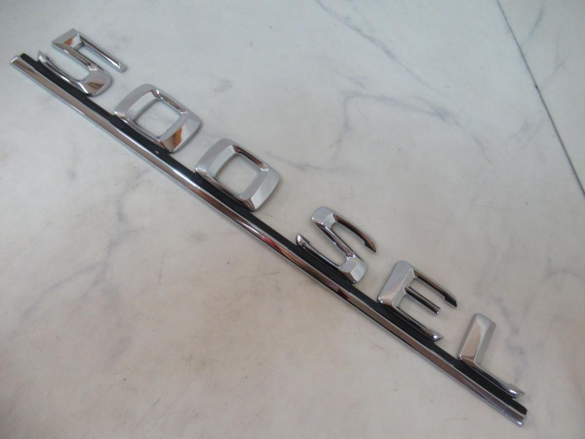 Mercedes-Benz(メルセデスベンツ)Sクラス(W126)500SEL純正エンブレム2個セット(126 817 06 15)未使用品_画像3