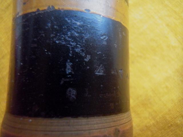 砲弾 信管 昭和18年 大東亜戦争 戦車砲弾 ディスプレイ 軍事資料 陸軍 海軍 旧日本軍 珍品 稀少品_画像6