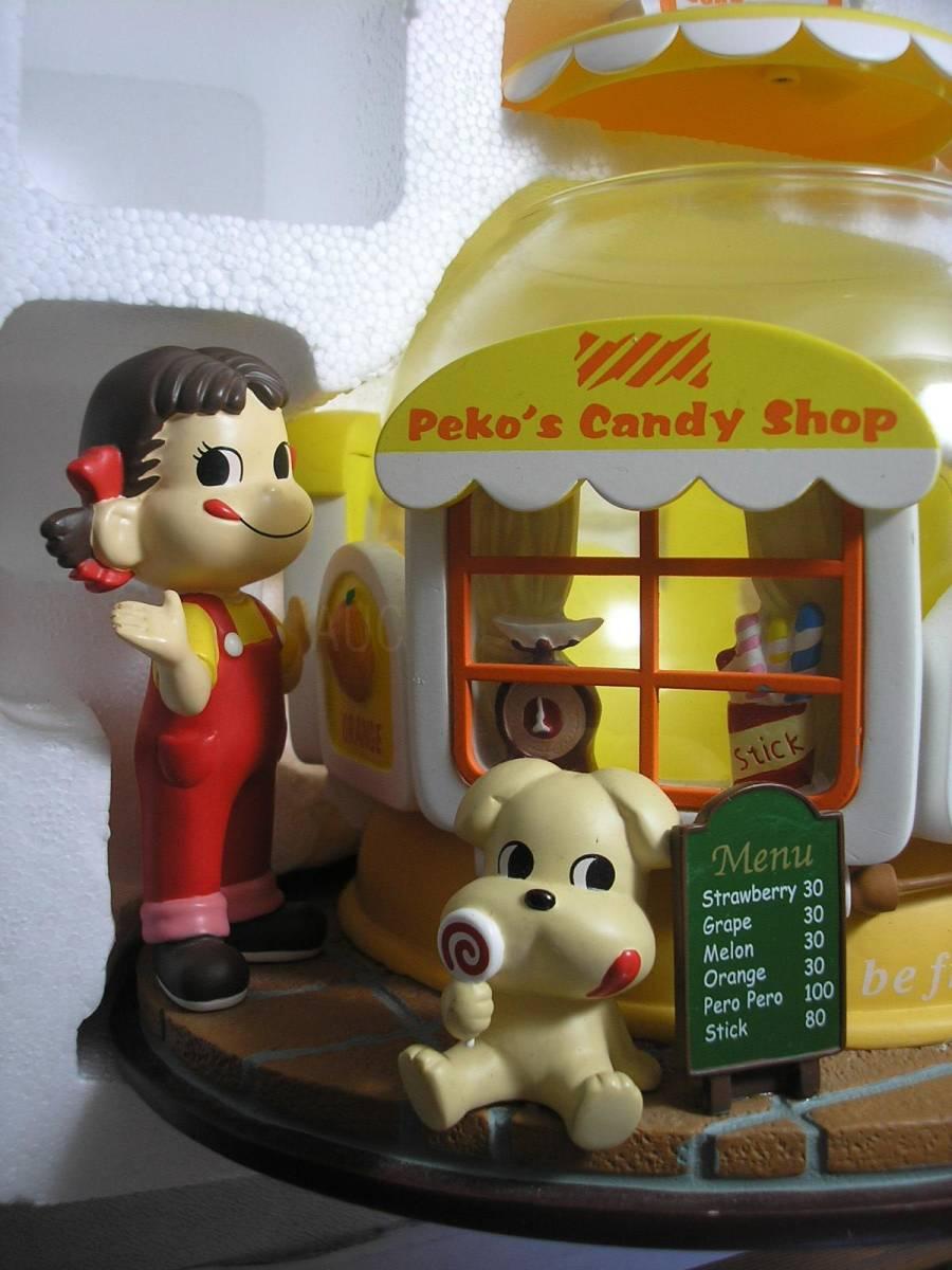 ●不二家●限定版ペコちゃんキャンディポット 2004年懸賞品 未使用 デッドストック #非売品#当時物_画像2