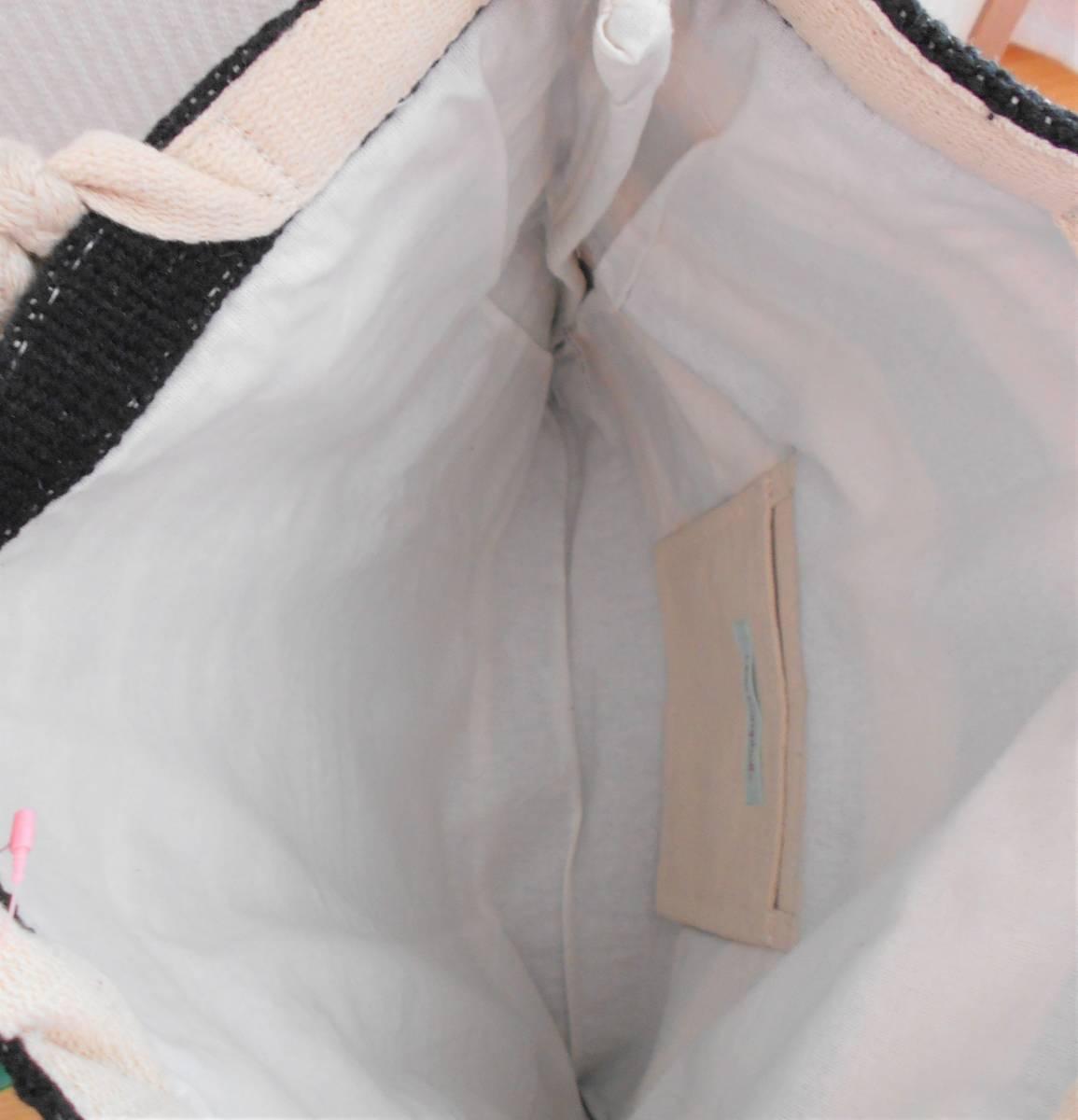 【新品】リラキャンベル バッグ 2way クラッチバッグ ブラック ハンドメイド Lilas Campbell