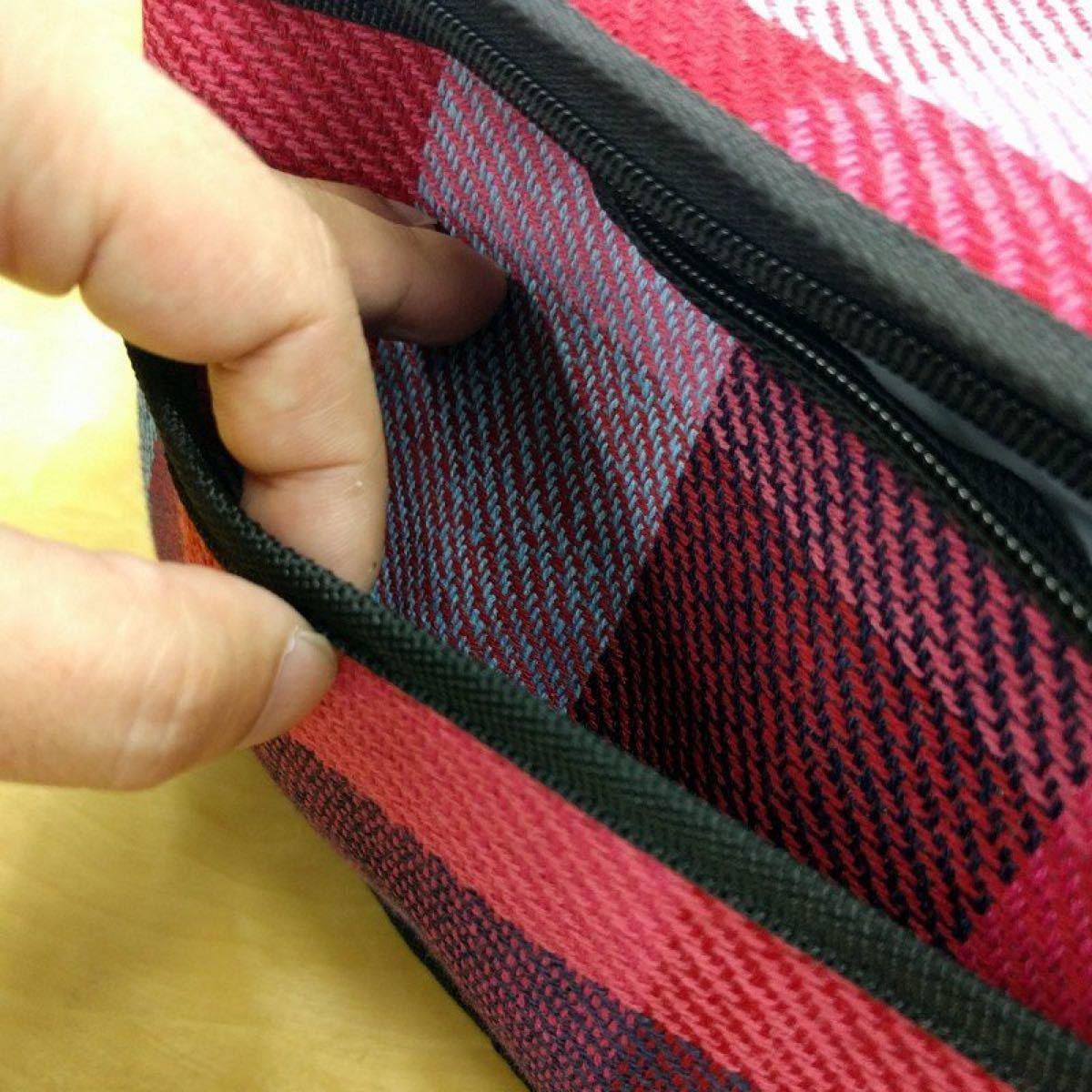 新品未使用CAPTAIN STAGの起毛 クーラーバッグ6L(ブルー・ピンク)