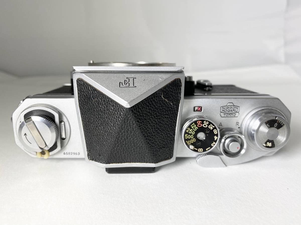 名機! Nikon ニコン F アイレベル ボディ #87_画像4
