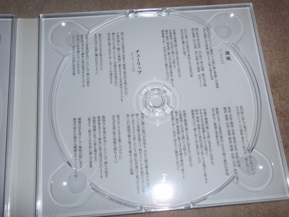 舟を編む OP主題歌 期間生産限定盤DVD付 潮風 岡崎体育 アニソン オープニングテーマ_画像4